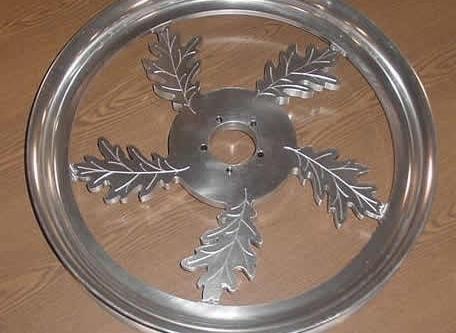 CNC Custom Wheel Hub 2