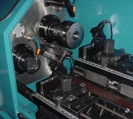 inside of Thread Roll machine