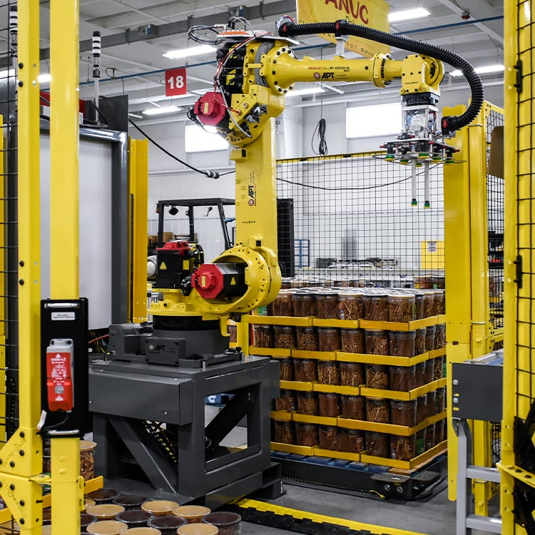 FANUC Robotic Palletizer