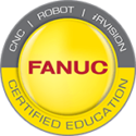 FANUC certified education logo