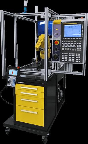 Machine Tending FANUC CNC Simulator