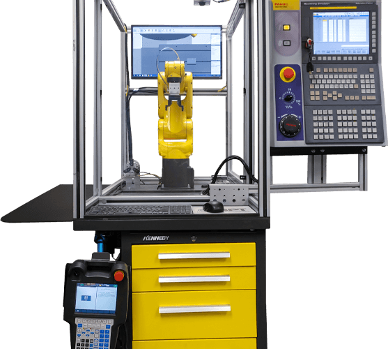 Machine Tending FANUC Robodrill Simulator