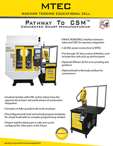 MTEC Machine Tending Educational Cell Flyer thumbnail