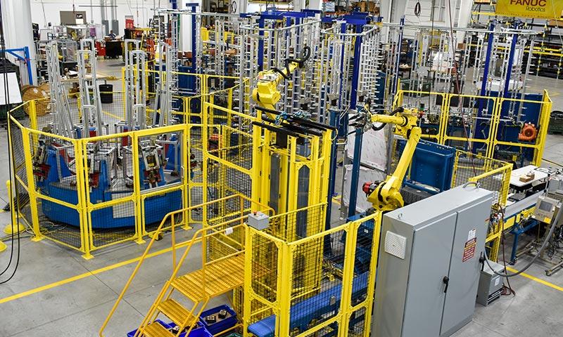 Automation floor