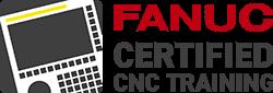 FANUC certified CNC training logo 250pxw